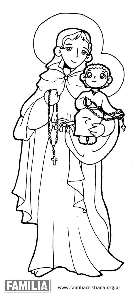 para fotos. dibujos para colorear de la virgen de luj n 8 de mayo
